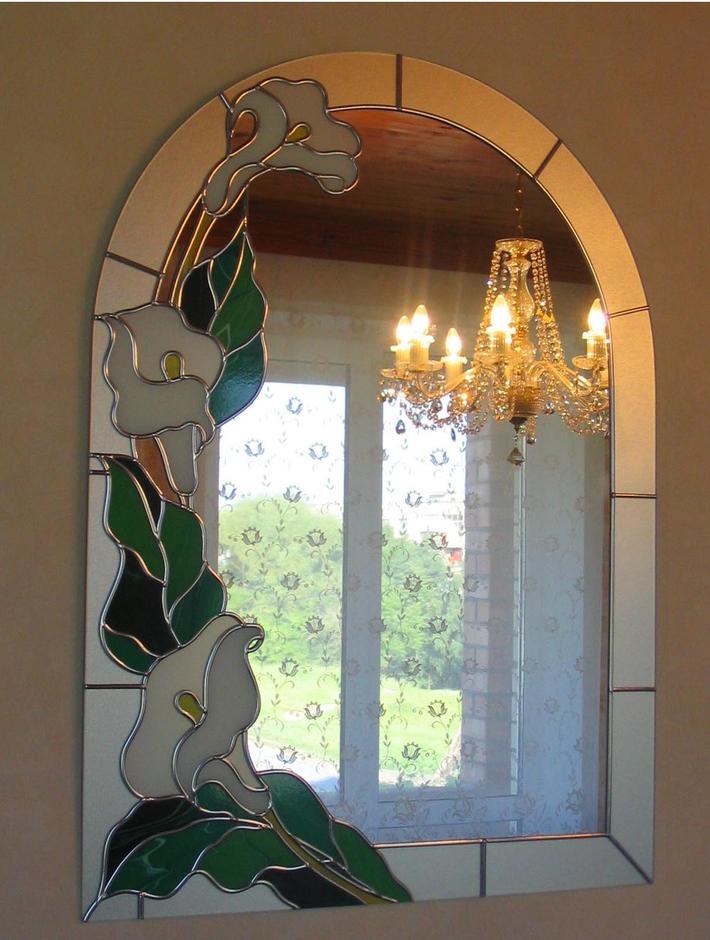 Как украсить зеркало в купе своими руками