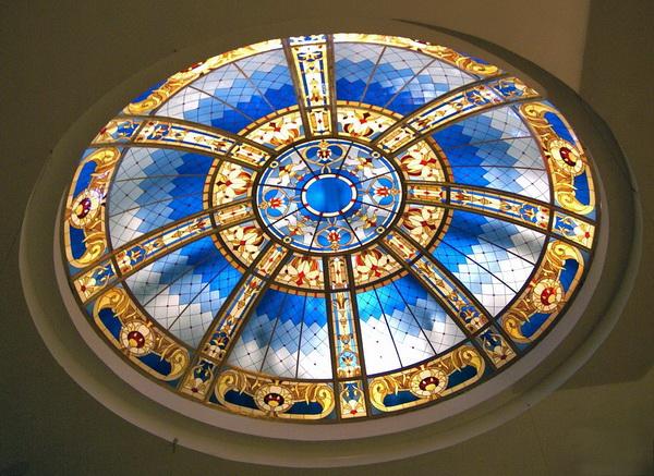 Витражные купола