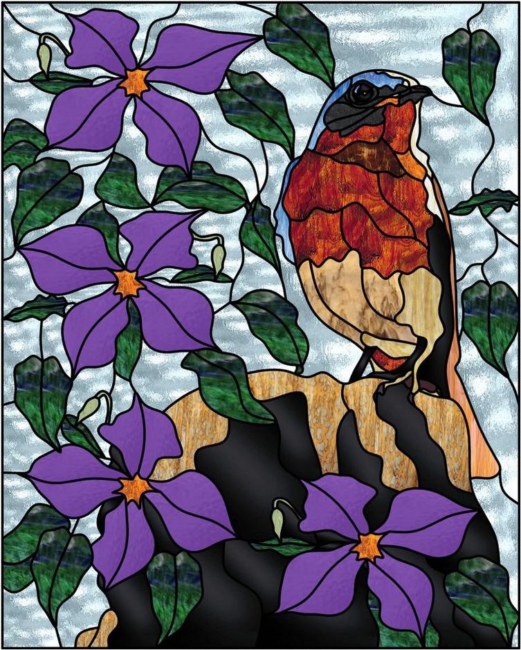 татуировки картинки витражей с цветами медицинское