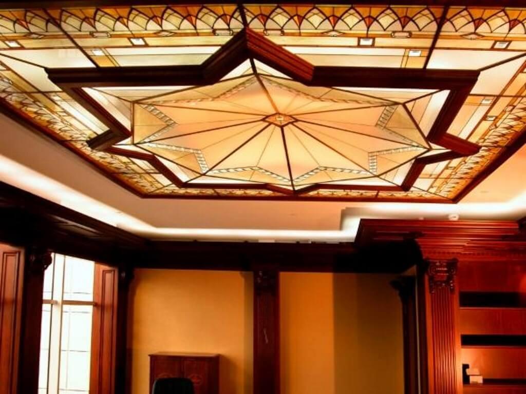 Потолок из гипсокартона модерн фото таблеток